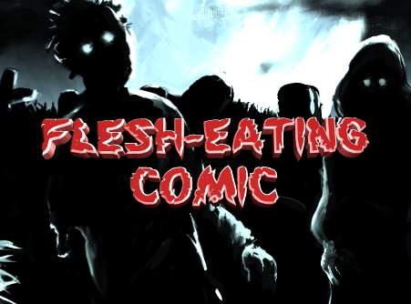 Flesh Eating Comic